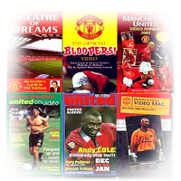 Manchester United on video magazines