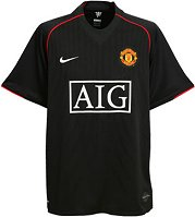 The new Manchester United away shirt